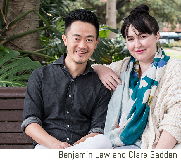 Ben Law and Clare Sadden